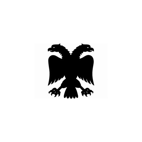 Adler 2kopf Silhouette Free DXF File