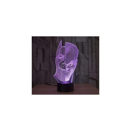 Batman Joker 3d Lamp Model Free DXF File