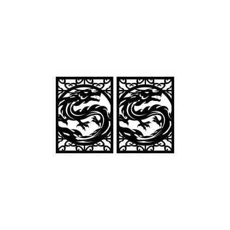 Drakonchik Dragon Free DXF File