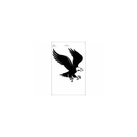 Eagle Silhouette Kartal Free DXF File