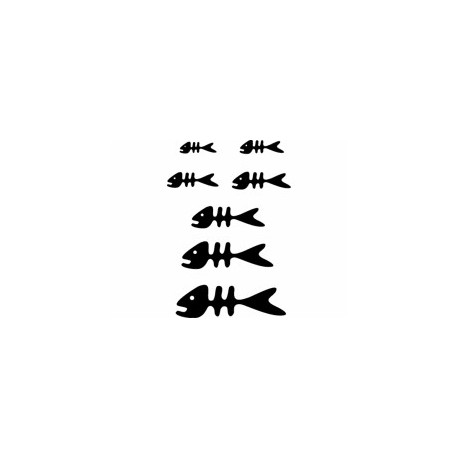 Fish Full Silhouette Free DXF File