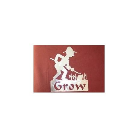 Gardener Grow Free DXF File