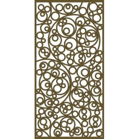 Jali Pattern Design Decor 555 Free DXF File