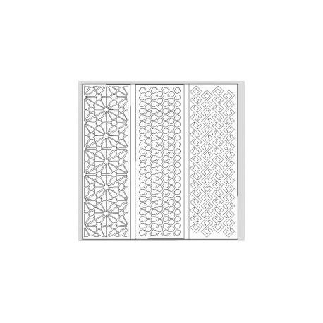 Jali Pattern Design Decor 696 Free DXF File