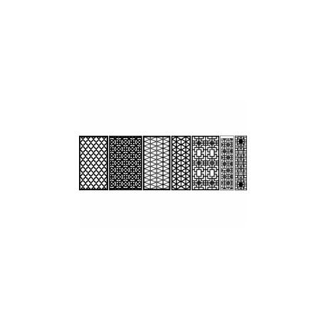 Jali Pattern Design Decor zs002 Free DXF File