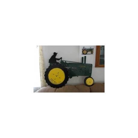 John Deere Tractor Free DXF File