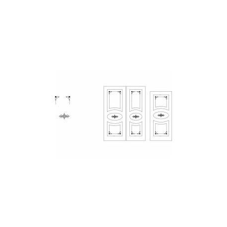 Kapi Design çi̇zi̇m Free DXF File