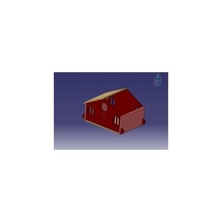 Kasten House Free DXF File