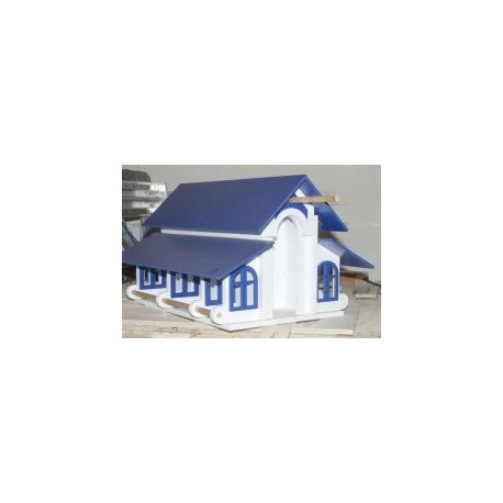 Laser Cut Casa Aves House Free DXF File