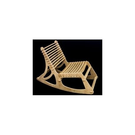 Relaxing Chair Wooden Free DXF File