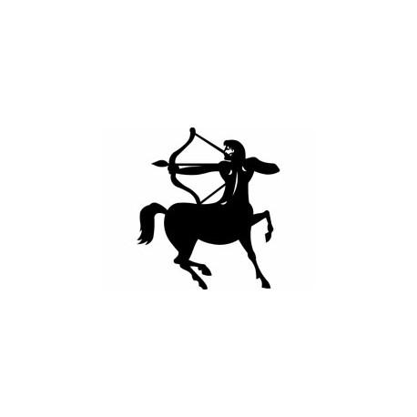Sagittarius Sign Silhouette Free DXF File