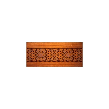 Wood Carving Design Free DXF File