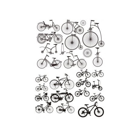 Bicycle Stickers Free CDR Vectors Art