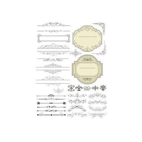 Decorative LineArt Free CDR Vectors Art