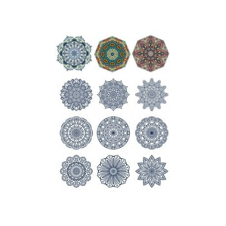 Decorative Ornamental Design Set 11 Free CDR Vectors Art