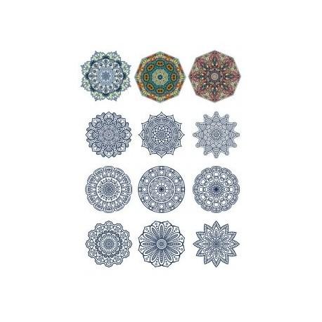 Decorative Ornamental Design Set 11 Free CDR Vectors Art