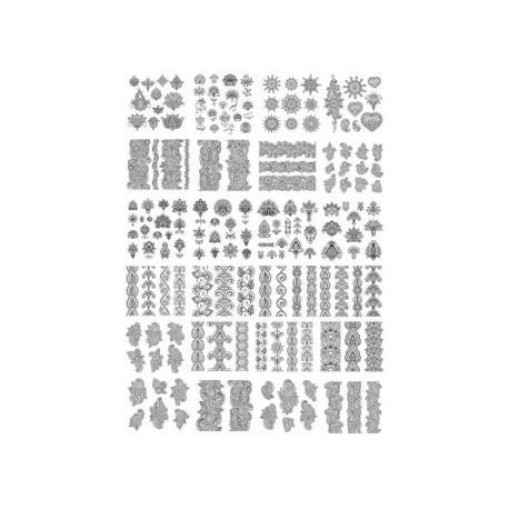 Fancy Decor Elements set Free CDR Vectors Art