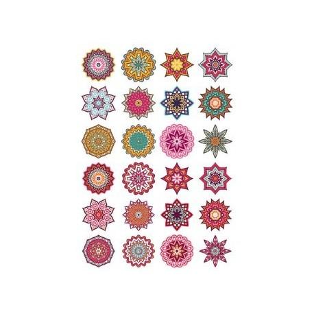 Mandala Decorative Elem 9 Free CDR Vectors Art