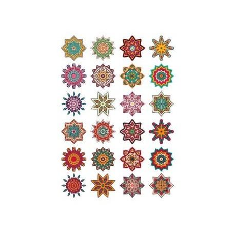 Mandala Pattern Doodle Round Ornaments Free CDR Vectors Art