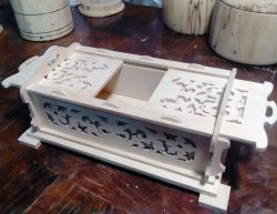 Wooden Box With Sliding Lid For Laser Cut Cnc Free CDR Vectors Art