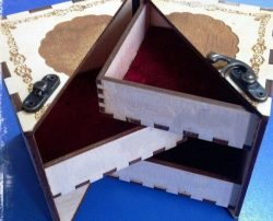 Wooden Gift Book For Laser Cut Free CDR Vectors Art