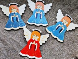Angel For Laser Cut Free DXF File