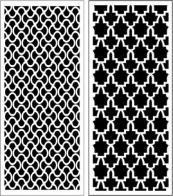 Design Pattern Panel Screen k062 For Laser Cut Cnc Free DXF File