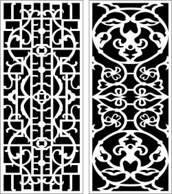 Design Pattern Panel Screen k108 For Laser Cut Cnc Free DXF File