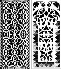 Design Pattern Panel Screen k112 For Laser Cut Cnc Free DXF File