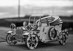 Ford Car For Laser Cut Cnc Free DXF File