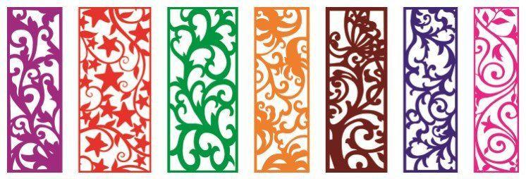 Laser Cut Best Grille Design Patterns Free DXF File