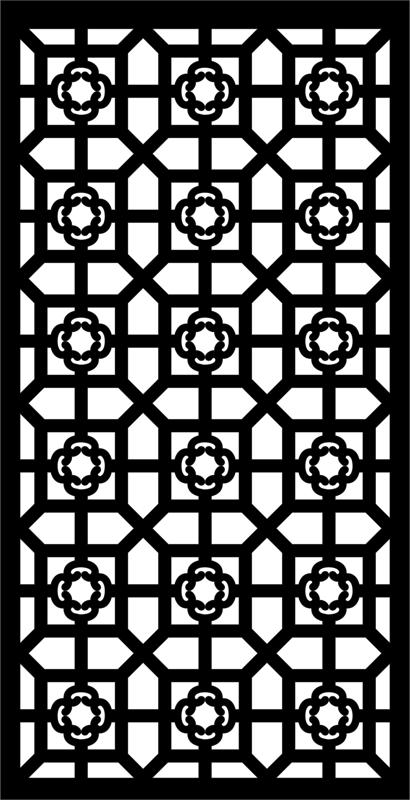 Laser Cut Cnc Vector Art Pattern Free DXF File