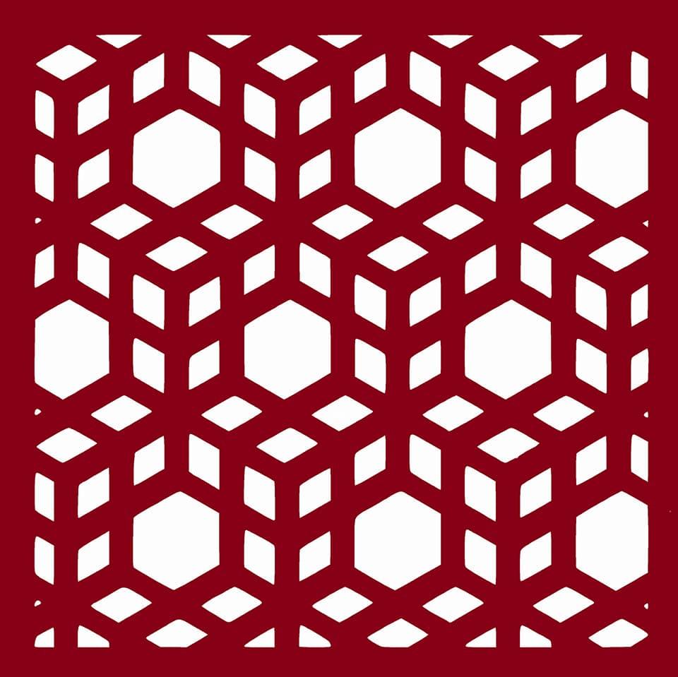 Laser Cut Cubes Pattern Free DXF File