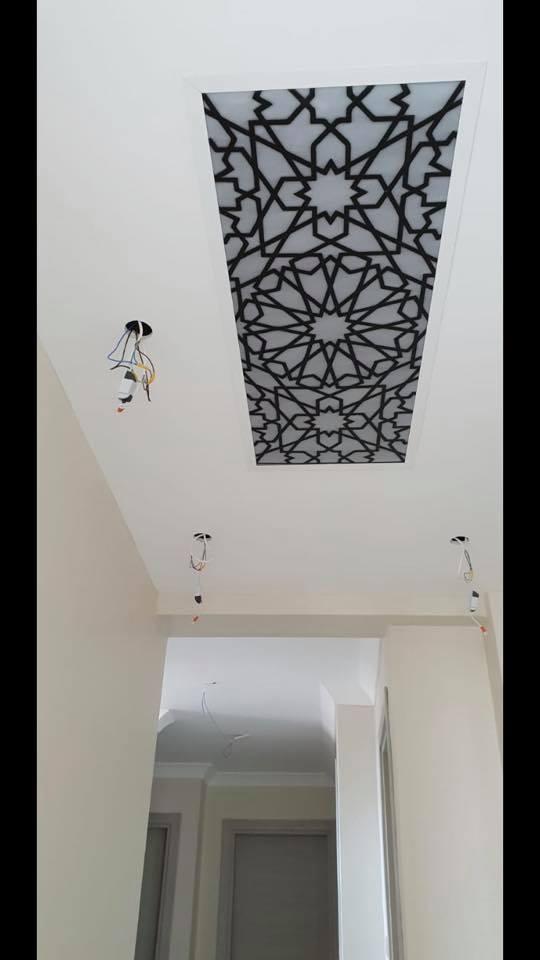 Laser Cut Decorative Wall Patterns Free DXF File