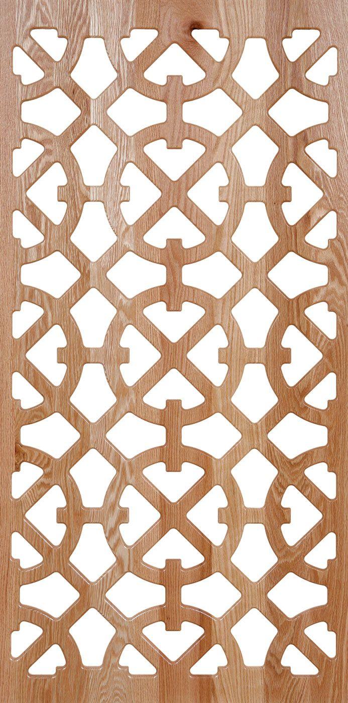 Laser Cut Engraved Wood Grille Pattern Design Free DXF File