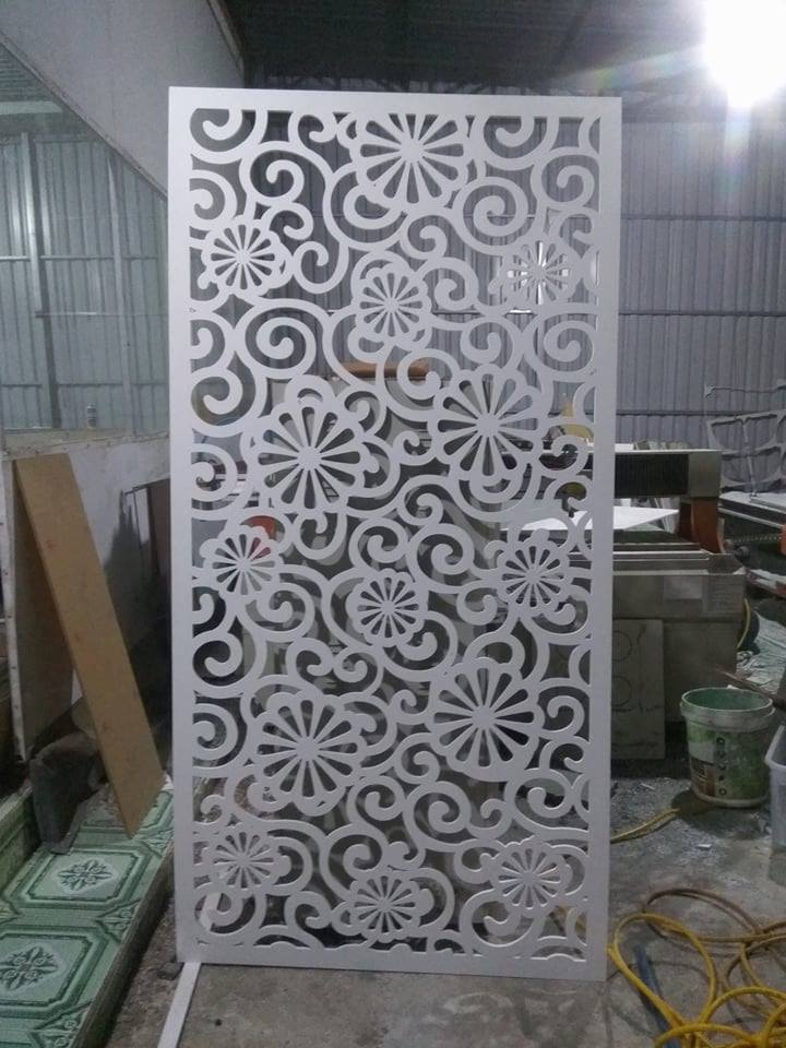 Laser Cut Inspired Room Divider Screen Pattern Free DXF File