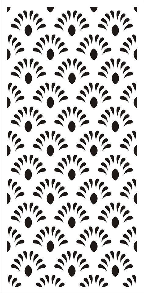 Laser Cut Jali Design Flourishing Design Pattern Free DXF File