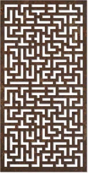 Laser Cut Mdf Jali Geometric Design Pattern Free DXF File