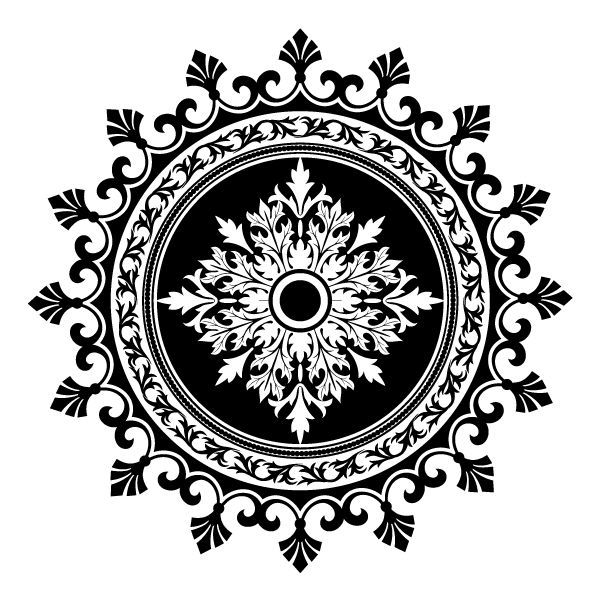 Laser Cut Ornamental Patterns Free DXF File