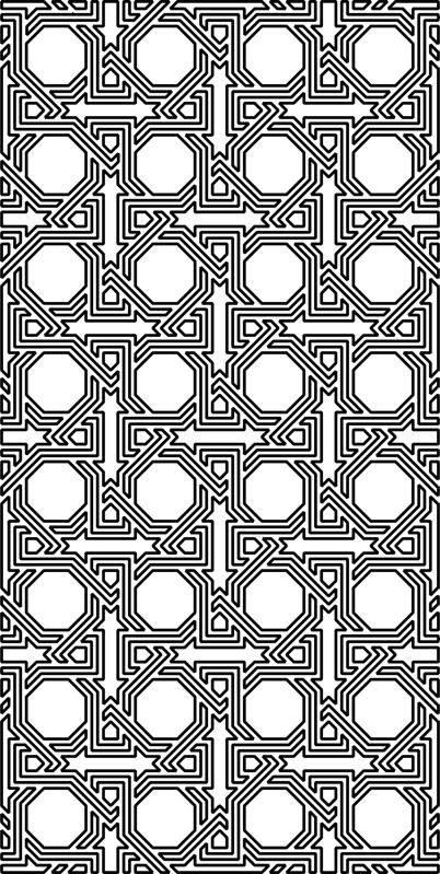 Laser Cut Pattern Grille Design Free DXF File