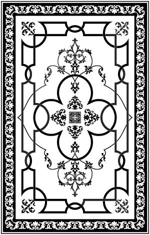 Laser Cut Patterns And Stencils For Etching Free DXF File