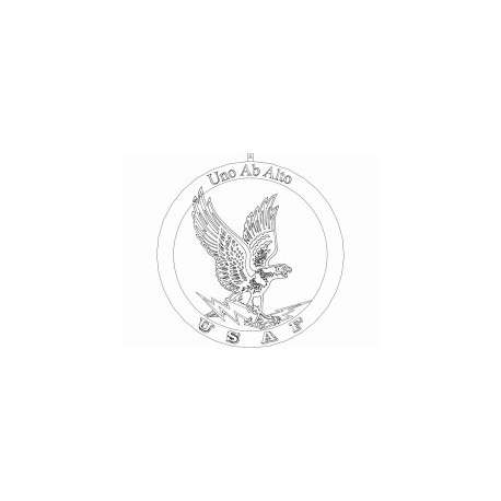 Aguia Eagle Line Art Free DXF File