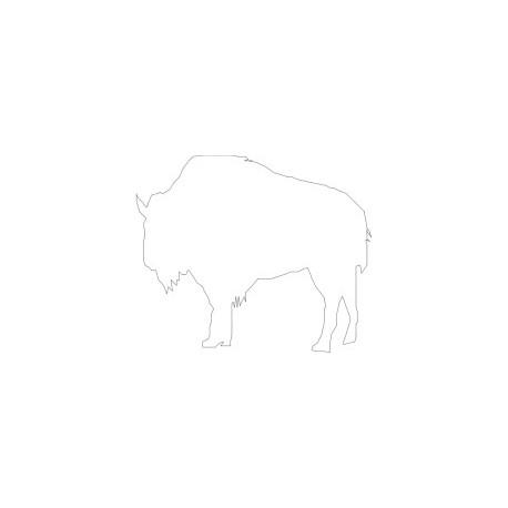 Bufalo Stencil Free DXF File