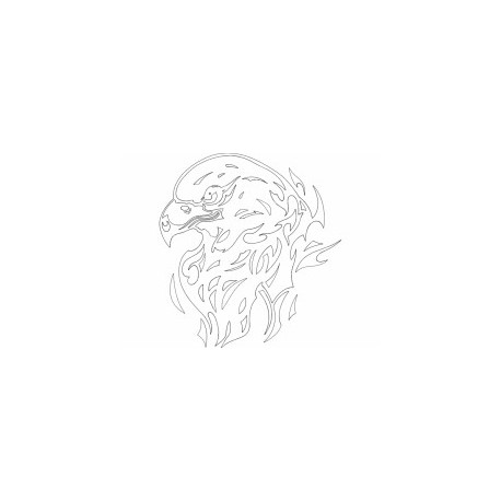cabeça De Aguia Eagle Free DXF File