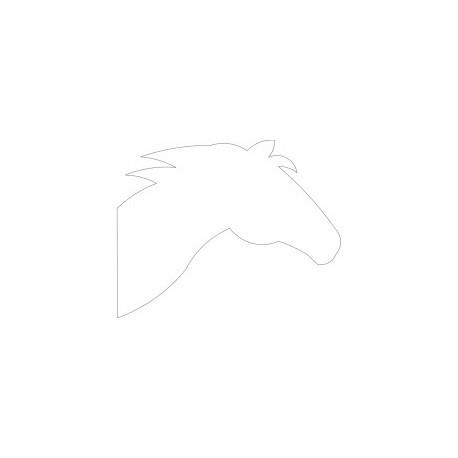 cabeça De Cavalo Horse Free DXF File
