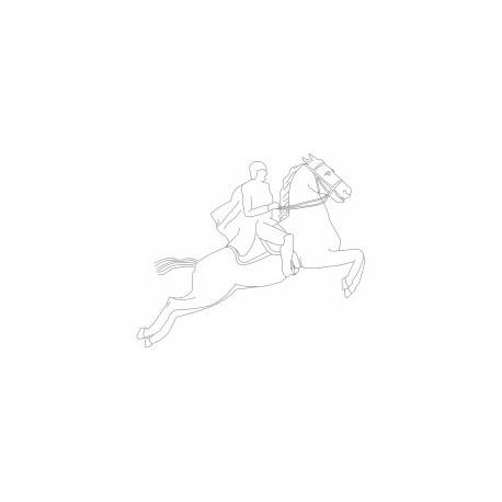 Cavalo Corrida Free DXF File