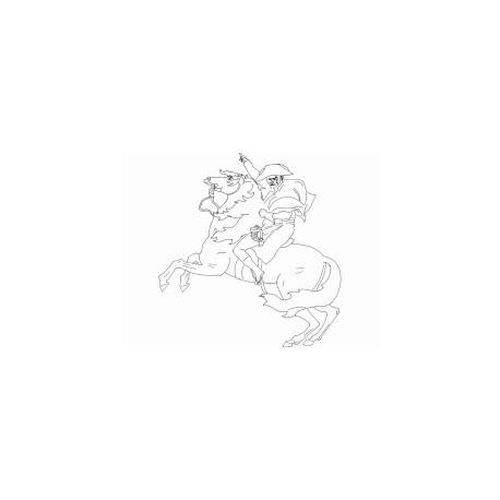 Cavalo E Soldado Free DXF File