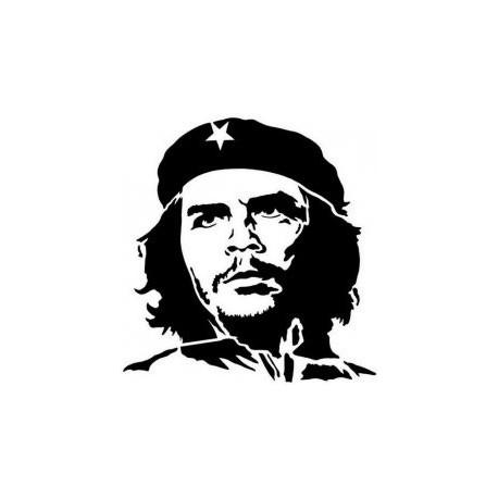 Che Guevara Silhouette Free DXF File