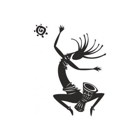 Kokopelli Figure Dancing Free DXF File