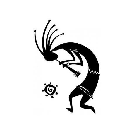 Kokopelli From Petroglyphs Free DXF File